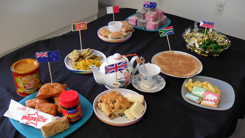 Little Wonders Greenmeadows childcare celebrate United Nations day with international food